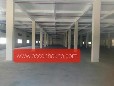 PCCC nhà xưởng tại KCN Tân Đô – Đức Hoà – Long An