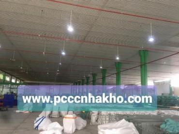 Thi công PCCC kho xưởng gần kcn Tân Đô thuộc xã Đức Hòa Hạ, Huyện Đức Hòa, Tỉnh Long An