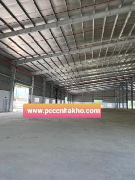 Lắp đặt hệ thống PCCC nhà xưởng Công Ty TNHH MTV Haneun Vina; Km 1926+500,Quốc Lộ 1A, ấp 4, X. Mỹ Yên, H. Bến Lức,Long An
