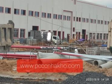 Thiết kế và thi công hệ thống PCCC nhà xưởng Công Ty Cổ Phần May Xuất Khẩu Long An tại 309 Quốc Lộ 1A, Voi Lá, Thị Trấn Bến Lức, H. Bến Lức, Long An.