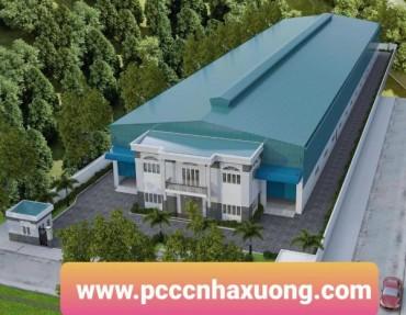 PCCC nhà xưởng 5700 m2 tại cụm công nghiệp Liên Minh – Đức Hoà – Long An