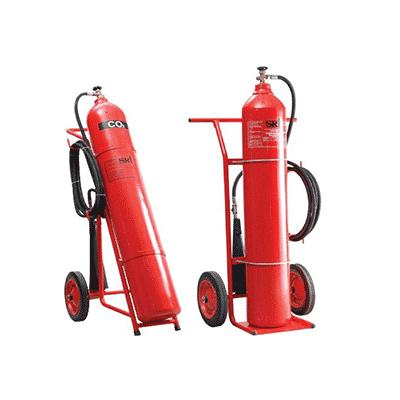 Bình chữa cháy xe đẩy khí CO2 24 kg